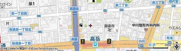 なか川周辺の地図