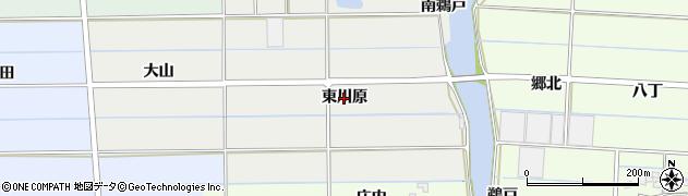 愛知県愛西市戸倉町(東川原)周辺の地図