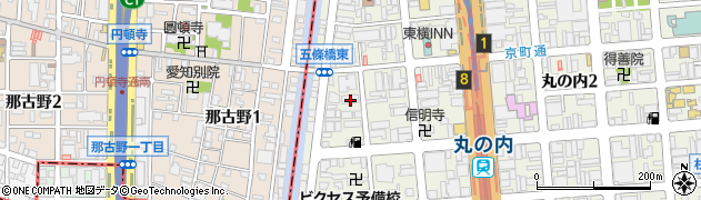 浜菜虎周辺の地図