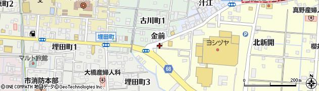 やま家周辺の地図