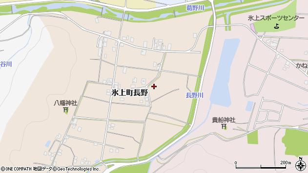 〒669-3612 兵庫県丹波市氷上町長野の地図