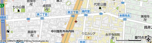 リーベ周辺の地図