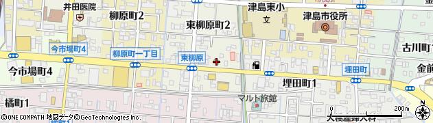 逸旬周辺の地図