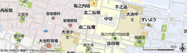 愛知県大治町(海部郡)堀之内(南二反畑)周辺の地図