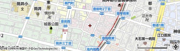 豊前住宅周辺の地図