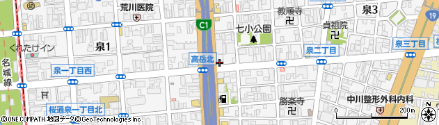 しかく周辺の地図