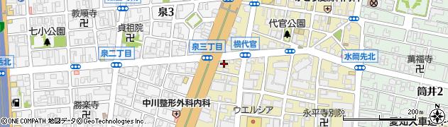 信夫周辺の地図
