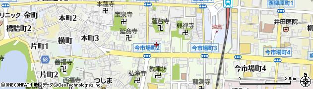貞寿寺周辺の地図