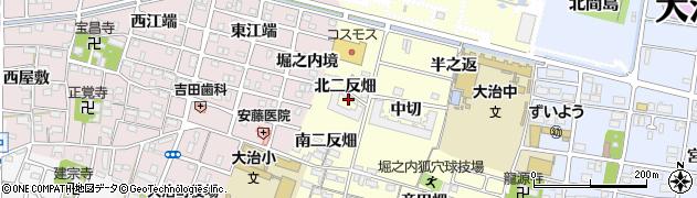 愛知県大治町(海部郡)堀之内(北二反畑)周辺の地図