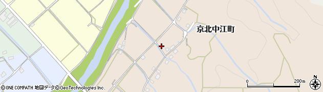 京都府京都市右京区京北中江町周辺の地図