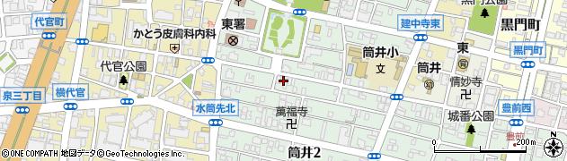Takemoku・食堂cafe周辺の地図
