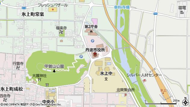 〒669-3156 兵庫県丹波市山南町金倉の地図
