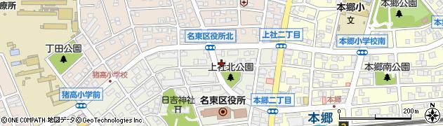 ほっかほっか亭 本郷店周辺の地図