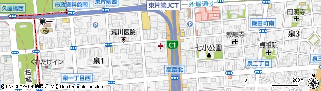 よ志や・和菜周辺の地図