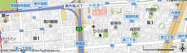 松寿し周辺の地図