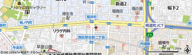 海鮮中国料理黄河周辺の地図