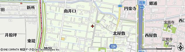 愛知県大治町(海部郡)西條周辺の地図