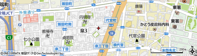 シャイ周辺の地図