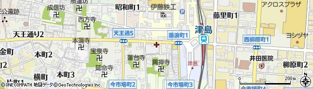 メルシー周辺の地図