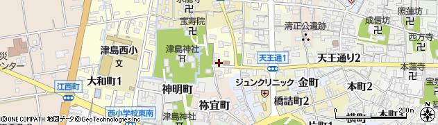 赤のれん周辺の地図