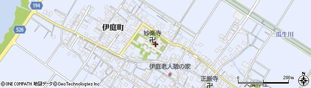 誓教寺周辺の地図