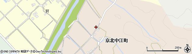 京都府京都市右京区京北中江町(上ノ町)周辺の地図
