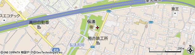 本蔵寺周辺の地図
