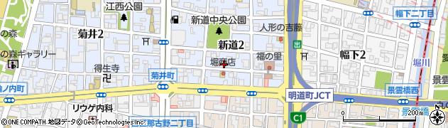 株式会社名古屋調理器材周辺の地図