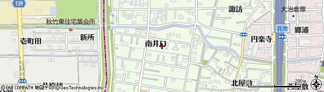 愛知県大治町(海部郡)西條(南井口)周辺の地図