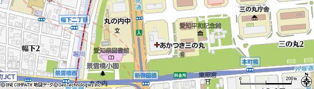 株式会社中日サロン周辺の地図