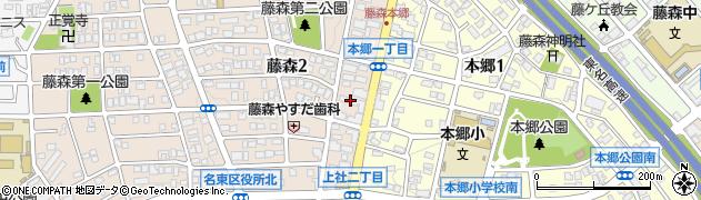PECORI周辺の地図
