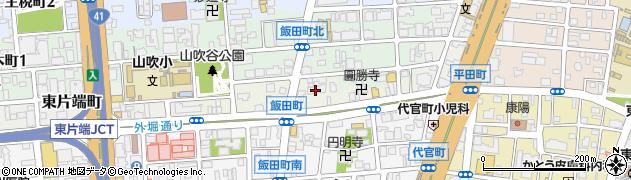 禅隆寺周辺の地図