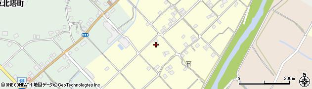京都府京都市右京区京北比賀江町(田布施)周辺の地図