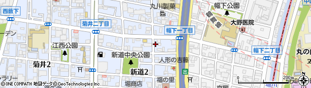 柊周辺の地図
