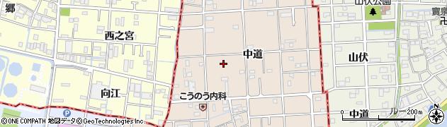 愛知県大治町(海部郡)長牧周辺の地図