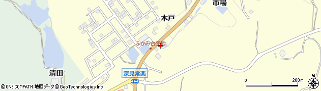 栄花周辺の地図