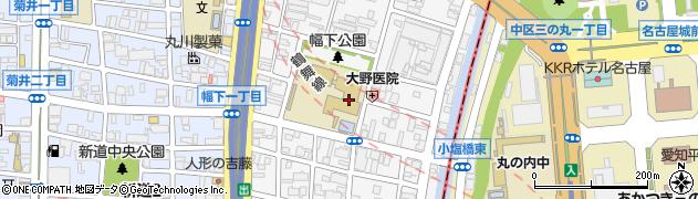 愛知県名古屋市西区幅下周辺の地図
