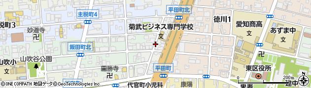 愛知県名古屋市東区相生町周辺の地図