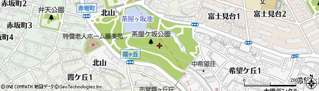 愛知県名古屋市千種区鍋屋上野町(汁谷)周辺の地図