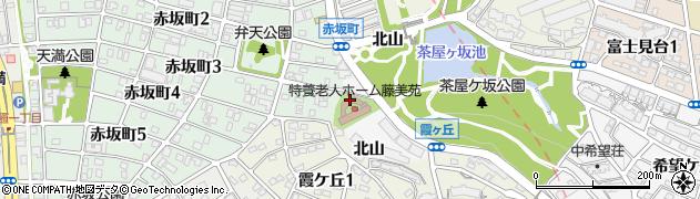 愛知県名古屋市千種区鍋屋上野町(北山)周辺の地図