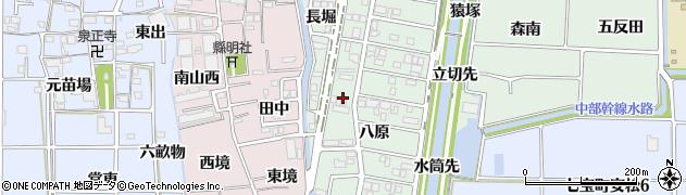 あまカセ周辺の地図