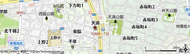 長養寺周辺の地図