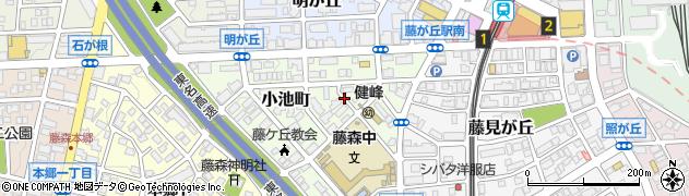 愛知県名古屋市名東区小池町周辺の地図