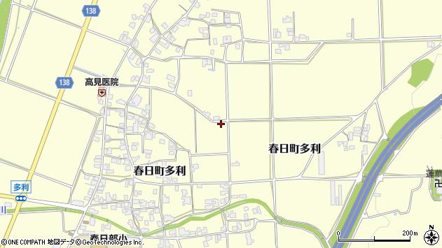 〒669-4123 兵庫県丹波市春日町多利の地図