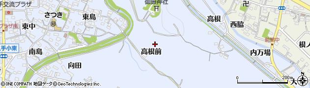 愛知県長久手市岩作(高根前)周辺の地図
