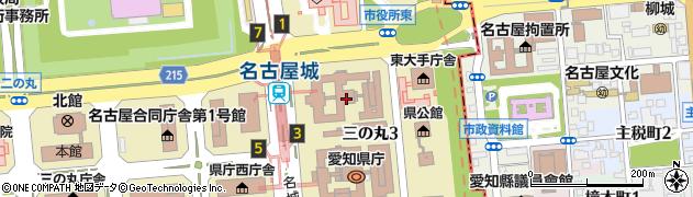 名古屋市周辺の地図