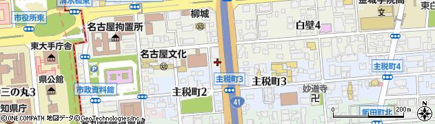 餃子王白壁店周辺の地図