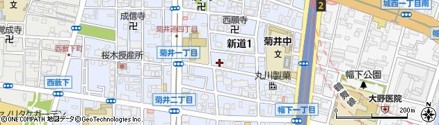 一八うどん周辺の地図