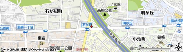 ほっともっと本郷店周辺の地図