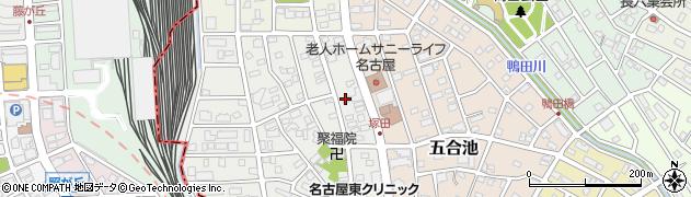 ふく運周辺の地図